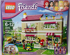 LEGO Friends Olivia's House 3315 Home 695 Piece New Sealed 100% Complete