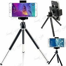 Rotatable Mini Tripod Stand + Holder For Camera Mobile Phone HTC Huawei Motorola