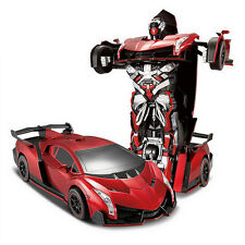 Transformers Robot Remote Control Action Figure Model Car Toy for Kids