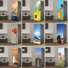 Fridge Door Sticker Removable Vinyl Wall Decal Mural Wallpaper Thanksgiving Day