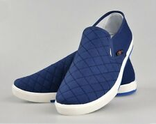 Canvas Breathable Slip On Loafers Casual Mens Cotton Shoes Driving Shoes Size 42