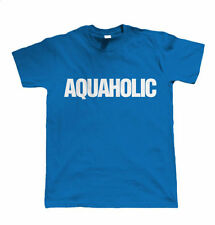 Aquaholic Water sports T Shirt for Sailing Surfing Swimming