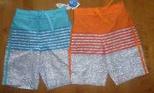 Boys Wave Zone Striped SWIM TRUNKS board shorts SIZE XS S M XL swimming suit NWT