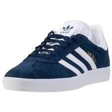 adidas Gazelle Mens Trainers Navy White New Shoes