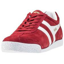 Gola Harrier Mens Trainers Red White New Shoes