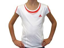 ADIDAS Girls Barricade Cap Tennis Top T Shirt Tee AdiPower X26061 Climacool New