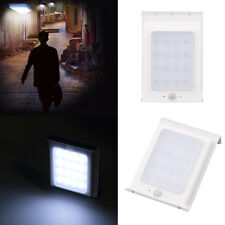 16LED Solar Power Motion Sensor Garden Security Lamp Outdoor IP65 Light New ~US