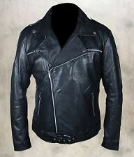 The Walking Dead Negan Jeffrey Dean Morgan Genuine Cow / Faux Leather Jacket