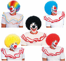Clown Circus Big Afro Costume Wig Adult Size Multiple Colors