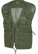 JACK PYKE COUNTRYMAN VEST MESH CLAYSHOOTING WAISTCOAT FLY FISHING GILET GREEN