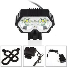 6000LM 2 X CREE XM-L T6 LED USB Waterproof Front Bike Bicycle Lamp Headlight