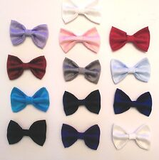 Lito Young Boy's Polysilk Clip-On Bow Ties- 13 Colors- and Choice of Suspenders