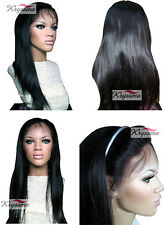 Brazilian Remy Lace Front Wigs Silky Straight Human Hair Wig African Americans