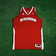 Wisconsin Badgers ADIDAS NCAA Authentic Game Issued Pro Cut Away Jersey Women's