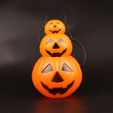 Halloween Jack O Lantern Candy Holders Pumpkin Bucket Trick or Treat Candy Bowls
