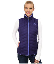 THE NORTH FACE MOSSBUD SWIRL REVERSIBLE VEST CUJ0BQC GARNET PURPLE/STARRY PURPLE
