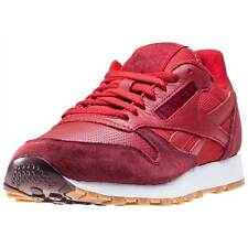 Reebok Classic Perfect Split Mens Trainers Red New Shoes