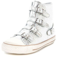 Ash Virgin Womens Trainers Silver New Shoes