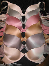 VICTORIA'S SECRET BIOFIT DEMI UPLIFT FULL COVERAGE STRAPLESS BRA 32 34 36 A B C