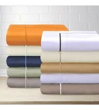 Egyptian Cotton 800 Thread Count Embroidered Duvet Cover Set