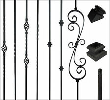 iron balusters iron stair parts stair railing metal spindles starcase railing