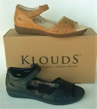 Klouds shoes - Orthotic friendly comfort leather Sandals Linda