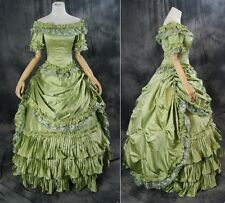 H-012 S/M/L/XL/XXL green Gothic Victorian Rococo Prom dress costume Evening Gown