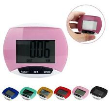 Waterproof LCD Run Step Pedometer Walking Distance Calorie Counter Pedometers