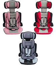 Bebe Style Convertible Childs Car and Booster Seat for Age Group 1-2-3 Pink