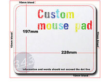 Custom mouse pad, mouse mat