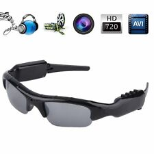 TF DVR 640x480 Video Audio Recorder Sunglasses Glass Hidden Camera Eyewear Lot L