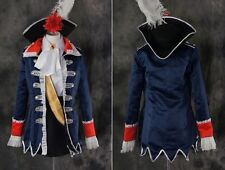 H-244 APH Axis Powers Hetalia Prussia Girls Version Cosplay costume to measure