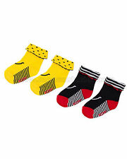 Deux par Deux Girls' Socks Me Baby, Sizes 3-6