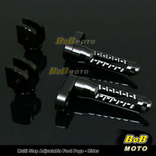 FOR Yamaha FZR750 1988-1996 Multi Step Adjustable Front Foot Pegs