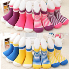4 Pairs/set HOT 0-3 Years Cotton Socks Baby Newborn Infant Lovely 2016 Soft NEW