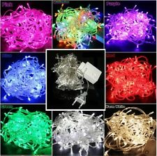 8 Multi-Action 10M 100 LED Xmas Christmas Tree Fairy String Lights Party Garden