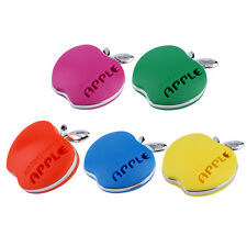 Auto Car Air Freshener Outlet Perfume Scent Interior Decoration Apple Shape UE