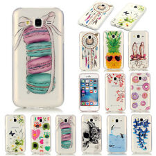 New Cute Pattern Ultra-thin Clear Soft Silicone TPU Rubber Gel Case For Phones