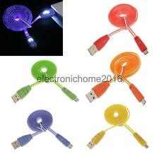 Light Up LED Micro USB Data Sync Charger Cable for Andriod HTC Samsung S3 S4