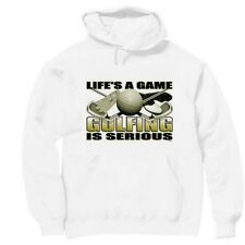 Pullover Hooded Sports Sweatshirt Life's A Game Golfing Is Serious Golf
