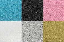 100g Bag - 2mm Edible Sugar Balls Sugarcraft Cupcake Cake Decoration Sprinkles