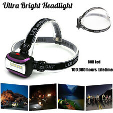 3W COB LED HeadLight AAA Headlamp Torch Zoomable Ultra Bright Light Camping Lamp