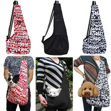 New Oxford Cloth Sling Pet Dog Puppy Cat Carrier Tote Single Shoulder Bag S M L