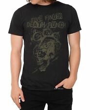 Five Finger Death Punch T-Shirt Mohawk Skull thrash metal rock M only NWT