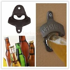 Vintage Antique Style Bar Pub Beer Soda Top Bottle Opener Wall Mount ~WL