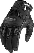 Icon Twenty-niner Motorcycle Glove Black