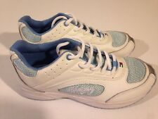 NWB TOMMY HILFIGER YOUTH GIRL'S MULTIPLE SIZES WHITE BLUE TENNIS SHOES GIRL *321