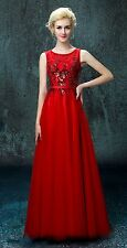 Long Lace Wedding Guest Bridesmaid Dresses Formal Party Evening Gown Prom Dress