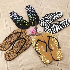 Fashion Casual Women's Summer Beach Flip Flops Thong Flat Sandals OO55
