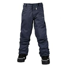 Volcom Battlefield Insulated Boys Pant - Charcoal - 2015 NEW, Orig $140